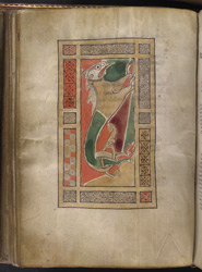 The Evangelist Symbol Of Mark, In 'The Gospels Of Mael Brigte'
